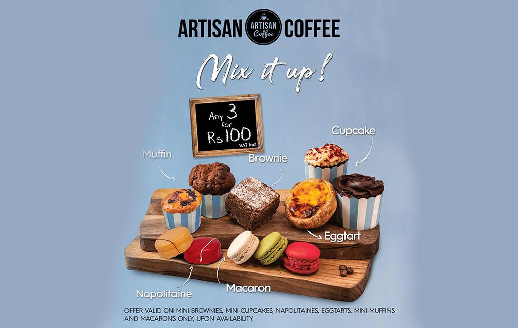 Artisan Coffee promo