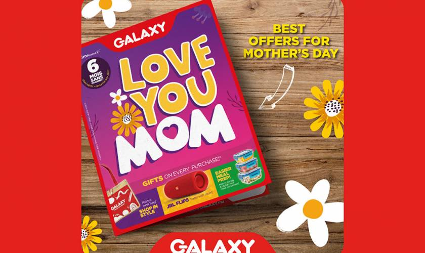 Galaxy Mother's Day Promo