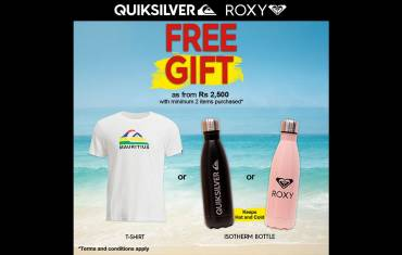 Quicksilver Mother's Day promo