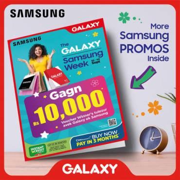 Galaxy 8 days promo on Samsung products